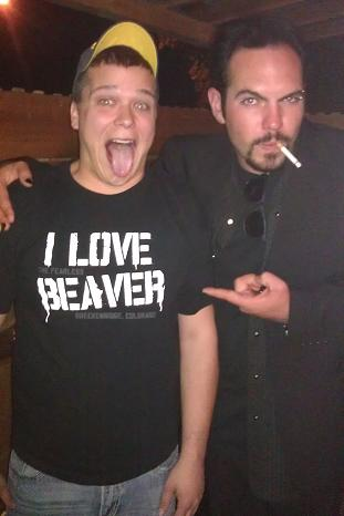 I LOVE BEAVER SHIRT Nathan Allen The Maniac of Magic Comedian Magician Entertainer Entertainment Des Moines Iowa