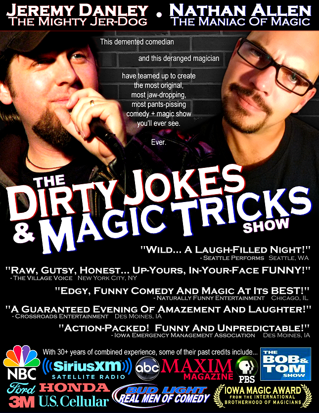 THE DIRTY JOKES AND MAGIC TRICKS SHOW
